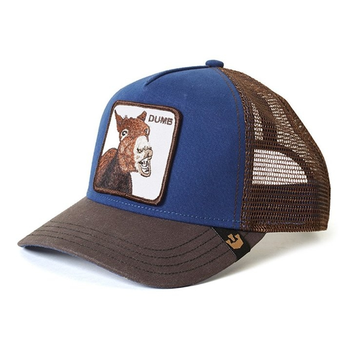 Goorin Bros Dumbass Animal Series Trucker Hat - Royal Blue  48623006023a