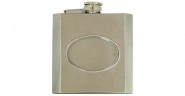 Stainless Steel Flask w Inlay