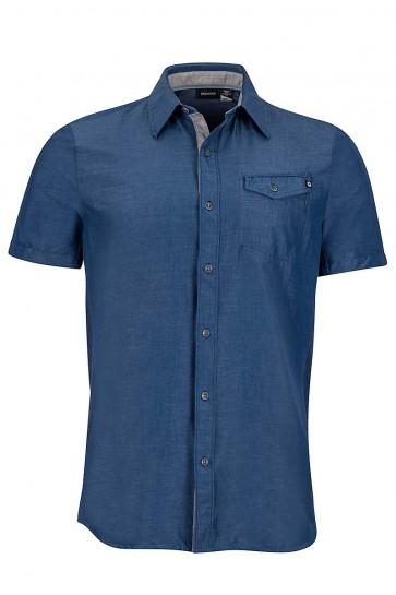 Marmot Men's Contra Short Sleeve (SS) Shirt - Vintage Navy