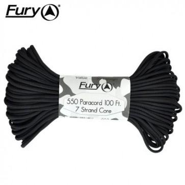 Fury Paracord 30m - Black