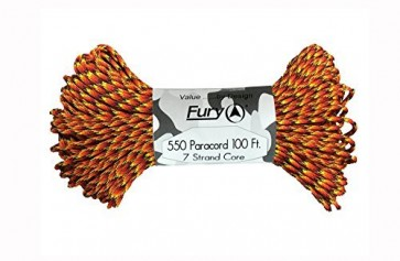 Fury Paracord 30m - Hell Fire