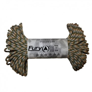 Fury Paracord 30m - Army Combat Uniform