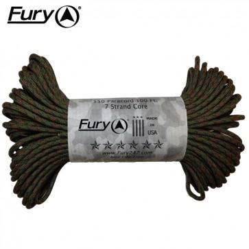 Fury Paracord 30m - Ground War Camo