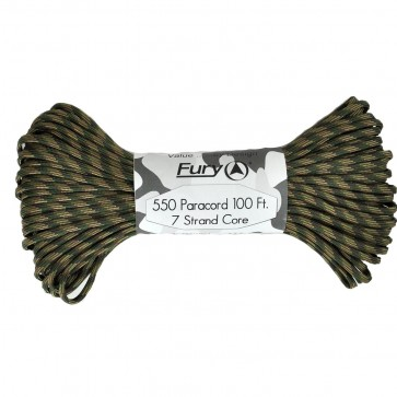 Fury Paracord 30m - Recon Camo