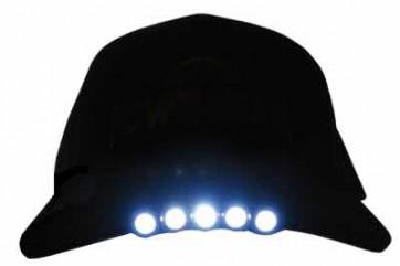 Plain Black LED Cap