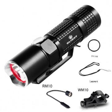 Olight M10 Maverick Tactical LED Torch Kit