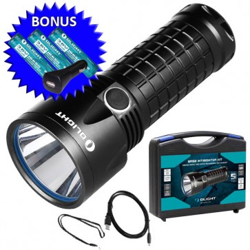 Olight SR52 Rechargeable LED Torch Kit