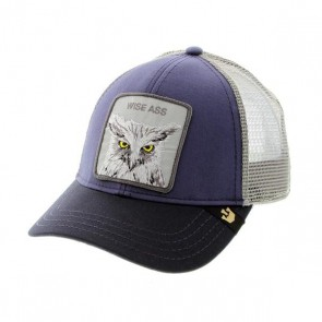 Goorin Bros X the Owl Trucker Cap - Navy