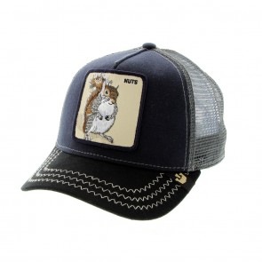 Goorin Bros Squirrel Master Trucker Cap - Navy