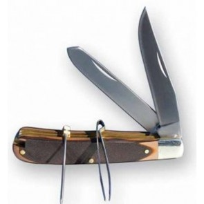 Stockman's Pocket Knife with Pick and Tweezers