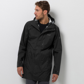 Jack Wolfskin Men's Crosstown Raincoat