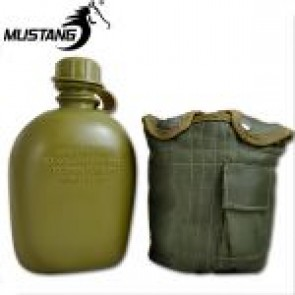 Mustang GI Canteen w Olive Cover