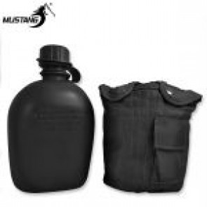 Mustang GI Canteen w Black Cover