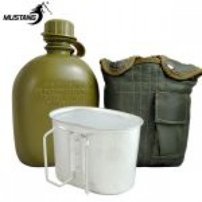 Mustang GI Canteen, Cup & Olive Cover