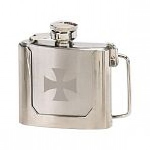 Belt Buckle Hip Flask