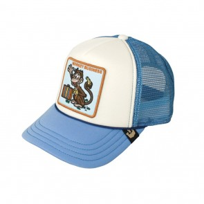Goorin Bros Kids Monkey Business Trucker Hat - Blue