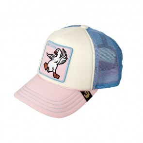 Goorin Bros Kids Silly Goose Trucker Hat - Pink