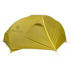 Marmot Force 2P Tent - Dark Citron/Citronelle