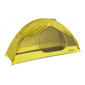 Marmot Tungsten Ultralight (UL) 1P Tent - Dark Citron/Cintronelle