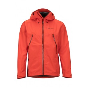 Marmot Men's Knife Edge Jacket - GORE-TEX - Mars Orange