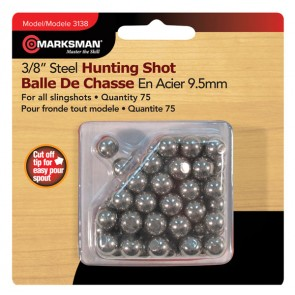 Steel Slingshot Pellets 9.5mm