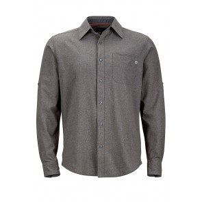 Marmot Men's Windshear Long Sleeve (LS) Shirt - Cinder