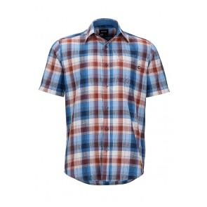 Marmot Men's Notus Short Sleeve (SS) Shirt - Varsity Blue