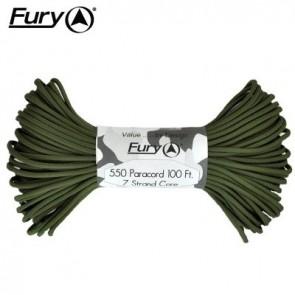 Fury Paracord 30m - Olive Drab