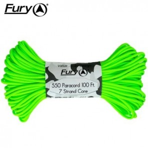 Fury Paracord 30m - Neon Green