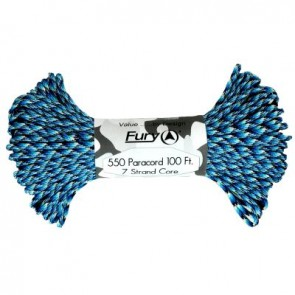Fury Paracord 30m - Neon Blue Snake