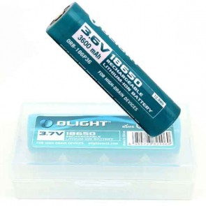 Olight 3600mAh 18650 protected Li-ion rechargeable battery