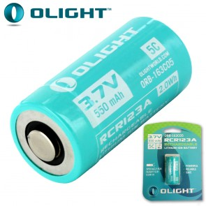 16340 Rechargeable IMR Lithium Battery (CR123 size)