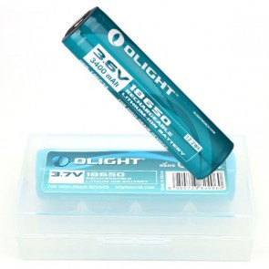 Olight 3400mAh 18650 protected Li-ion rechargeable battery