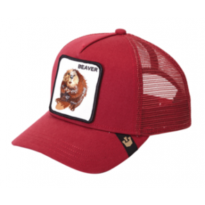 Goorin Bros Big Red Trucker Cap - Red