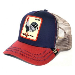 Goorin Bros All American Rooster Trucker Cap - Navy