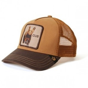 Goorin Bros Cub Trucker Cap - Brown