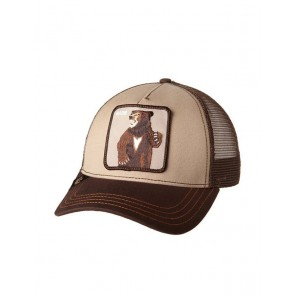 Goorin Bros Lone Star Trucker Cap - Brown