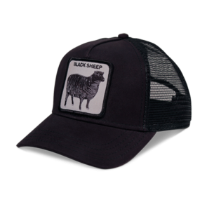 Goorin Bros Naughty Lamb Trucker Cap - Black