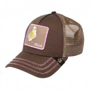 Goorin Bros Chicky Boom Trucker Cap - Brown