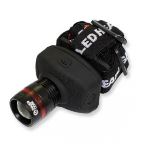 Innercore Black Zoom LED Headlamp 180Lm