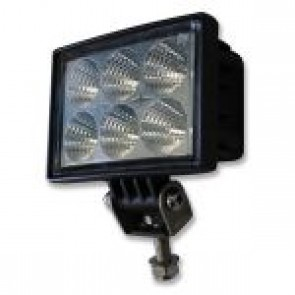 LED Work Light Clear Lens 18W
