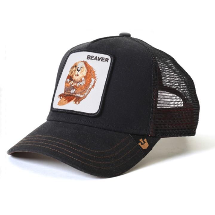 Goorin Bros Waxed Trucker Cap - Black 90625260972  aa7fb02cdb20